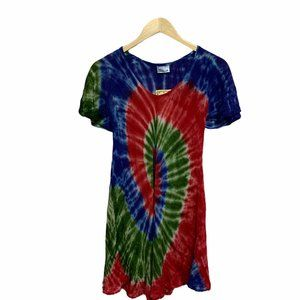 INDIA BOUTIQUE Tie-Dye Casual Dress